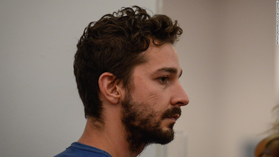 "Shia LaBeouf's recent bizarre behavior culminated in his being <a href=""http://www.cnn.com/2014/06/26/showbiz/shia-labeouf-charged/"">arrested in New York </a>and charged with harassment, disorderly conduct and criminal trespass at the Broadway show ""Cabaret."" The actor's rep said July 1: ""Contrary to previous erroneous reports, Shia LaBeouf has not checked into a rehabilitation facility but he is voluntarily receiving treatment for alcohol addiction. He understands that these recent actions are a symptom of a larger health problem and he has taken the first of many necessary steps towards recovery."""