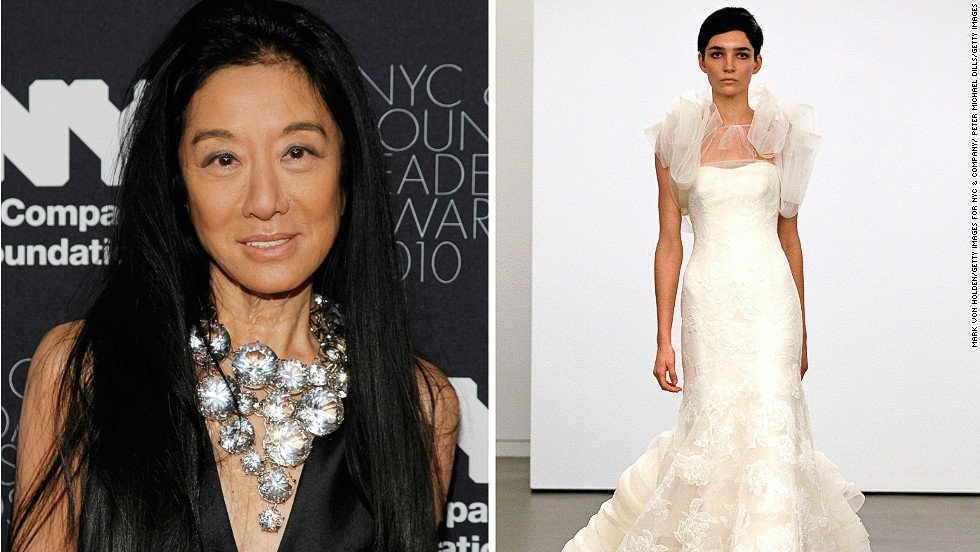 """<em>Vera Wang, wedding dresses</em><br /><br />The appeal of Vera Wang's dreamlike creations transcends borders and cultural differences to be coveted by brides from four corners of the globe. The former fashion editor first stepped on to the scene in the 1980s, the era of extravagance when the hunger for luxury goods was on the rise. <br /><br />""""Vera Wang was the right person at the right time with the right idea,"""" says FIT's Patricia Mears. """"She realized that high fashion bridal wear was lacking, and she made very exquisite couture quality wedding gowns. But she wasn't selling just dresses, she was selling a very high-end vision, and by creating this bridal line, she made the industry much more important."""""""