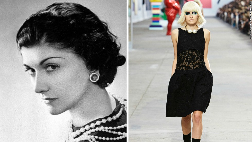 """<em>Coco Chanel, the little black dress</em><br /><br />A staple of women's wardrobes across the wardrobes across the world, the little black dress has become synonymous with refined style and elegance. Its simple form was championed by numerous designers, but it was the legendary French couturier Coco Chanel who came to be identified with it. <br /><br />""""Coco Chanel was a very chic woman herself and that was an element that helped her stand out"""", says Patricia Mears, deputy director of the Fashion Institute of Technology in New York. """"She was able to adapt the design of her little black dress throughout the decades, and her own style helped her version of it rise above all others.""""<br /><br />By <strong><a href=""""https://twitter.com/M_Veselinovic"""" target=""""_blank"""">Milena Veselinovic</strong></a>, for CNN"""