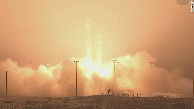 Satellite launch to study climate change