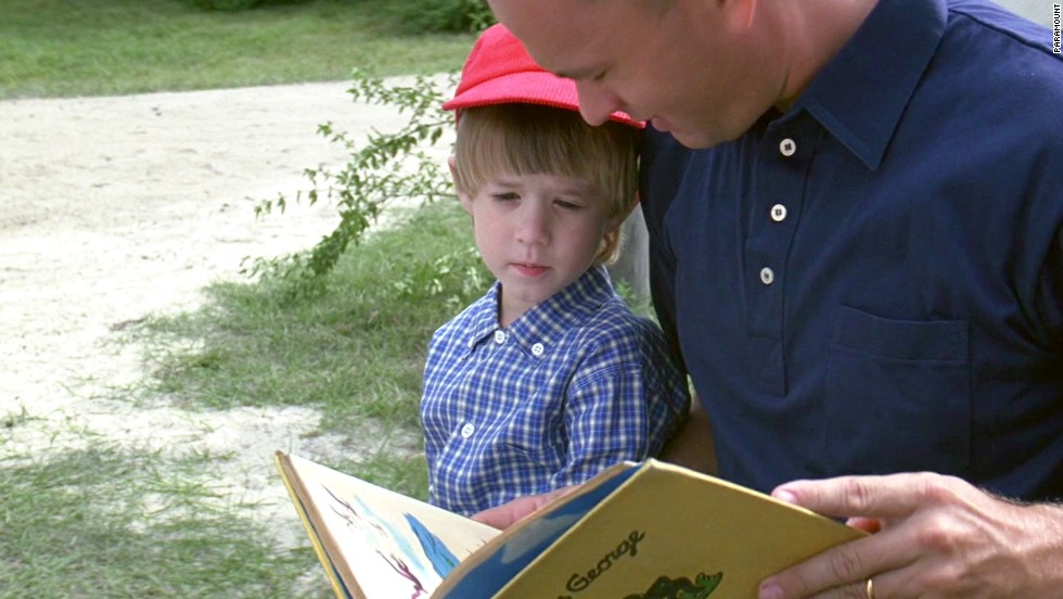 A young Haley Joel Osment stars as Forrest Gump Jr.