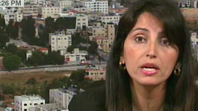 She refused to appear with Israeli govt. official