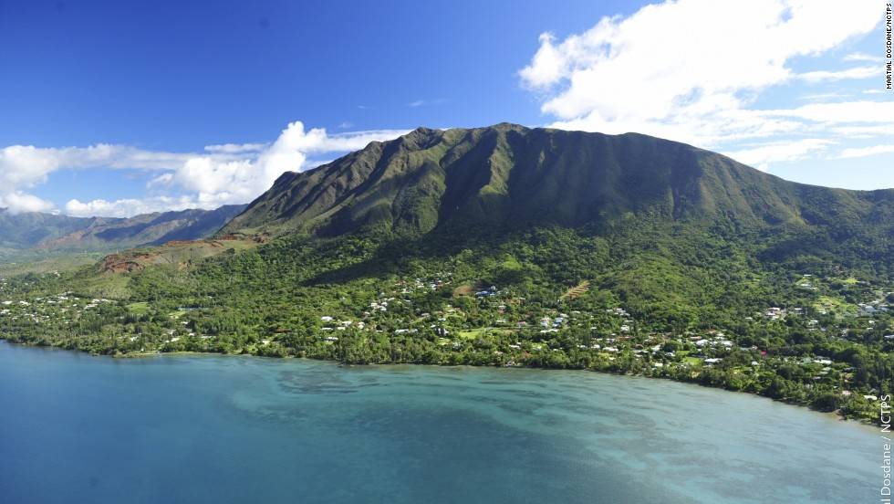Mont Dore (pictured) is located in the suburbs of capital Noumea in the South Province of New Caledonia.