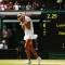 Petra Kvitova celebrates Wimbledon