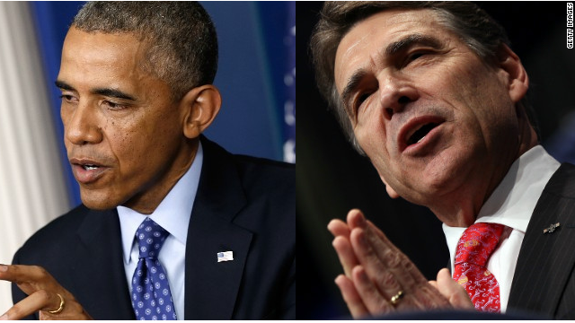 Obama offers meeting to Perry