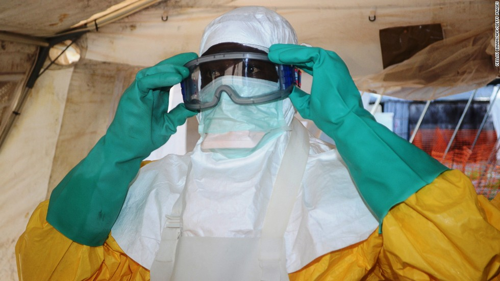 "A member of Doctors Without Borders puts on protective gear Saturday, June 28, at a hospital in Conakry, Guinea, where people are being treated for the Ebola virus. The World Health Organization has reported the <a href=""http://www.cnn.com/2014/07/03/health/ebola-outbreak-west-africa/index.html"">biggest-ever outbreak of the deadly virus</a> — at least 759 cases, including 467 deaths, in Guinea, Sierra Leone and Liberia. The outbreak began in March."