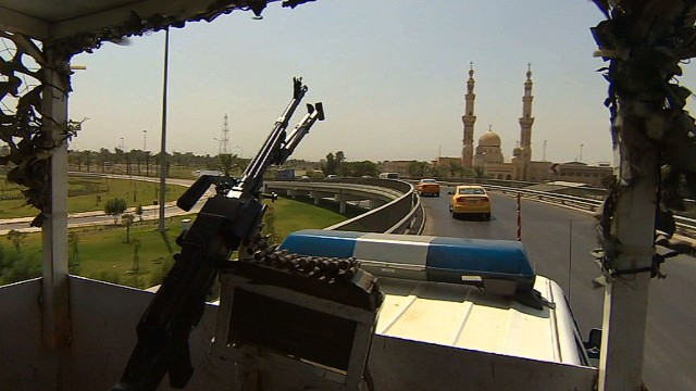 On patrol with Baghdad's special forces