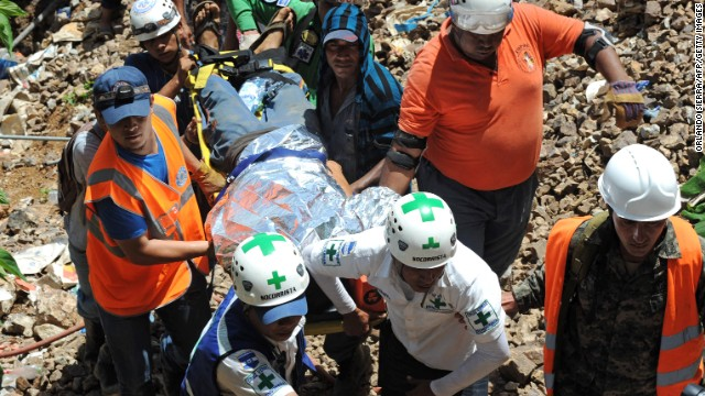 3 rescued from collapsed Honduran mine