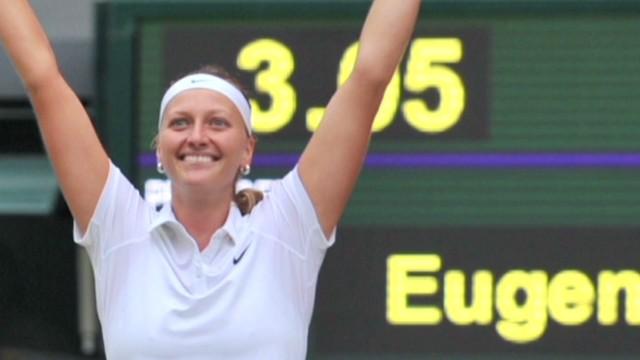 Kvitova wins 2nd Wimbledon title