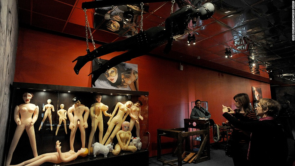 An unusual place for a sex museum, but a fascinating one to visit!