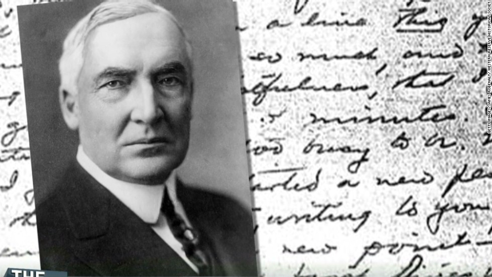 Harding's love letters to be released