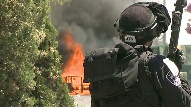 Tensions high in Israel after killings