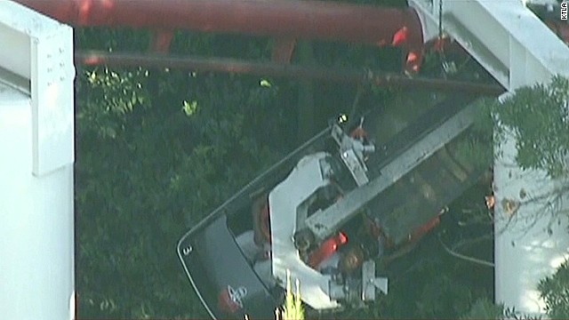 Riders stuck for hours on roller coaster