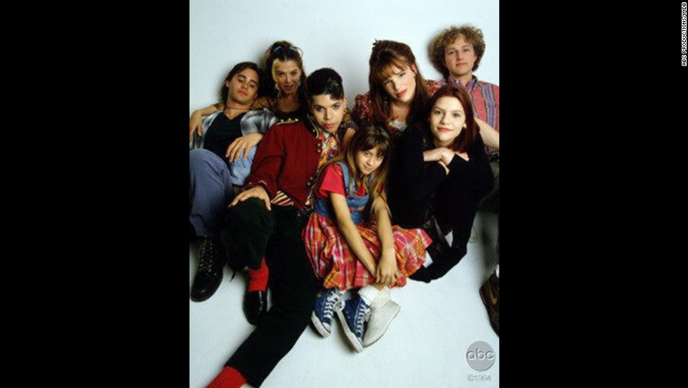 """My So-Called Life"" launched the career of a teen Claire Danes, second from right, who starred in the ABC drama about the angst of the high school years. Despite what would become a cult following, it suffered from low ratings and no Emmy love."