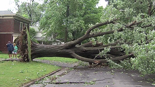 Ferocious storms turn deadly in the East