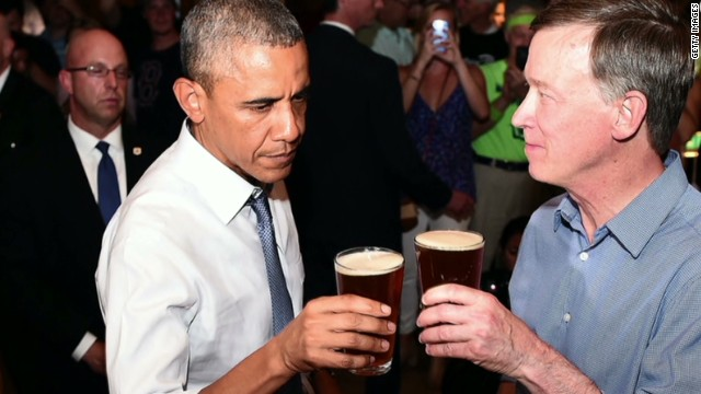 Obama offered pot at Denver bar