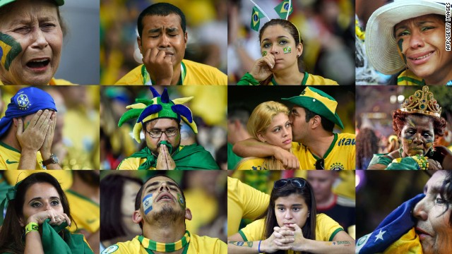 Brazil stunned by Germany in semifinal