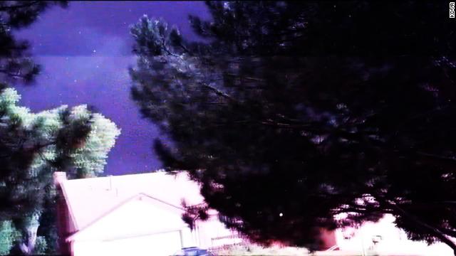 Lightning knocks man to the ground