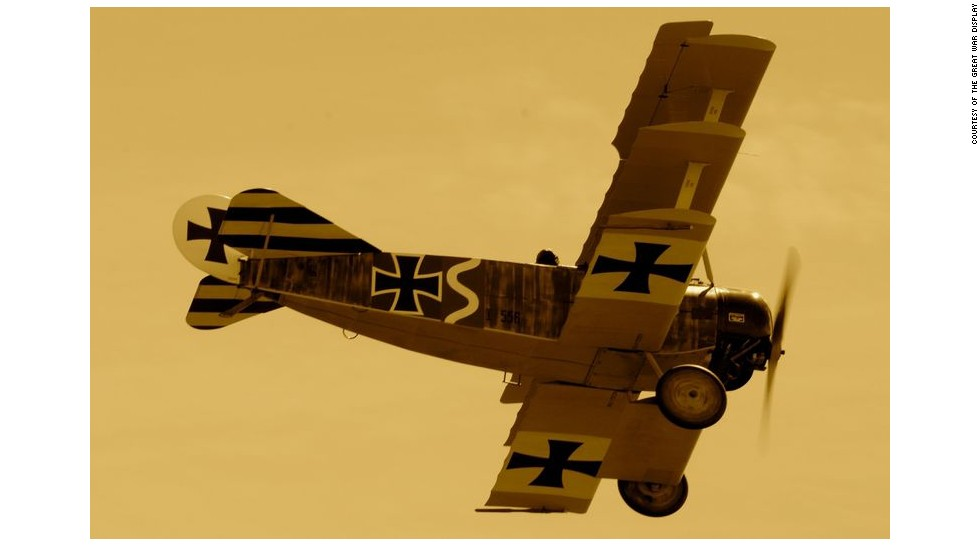 Sporting two forward firing machine guns within its black and white exterior, the German Fokker Dr1 is highly intimidating, highly impressive and not for the fainthearted.