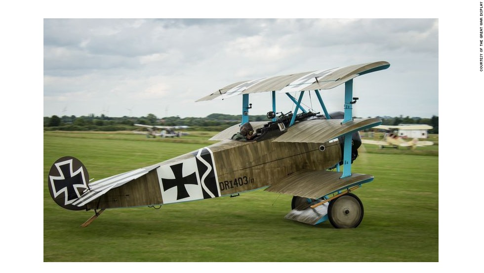 A direct copy of the Sopwith, the German Aces took a liking to the Fokker Dr1 Triplane model, namely Manfred von Richthofen - the legendary German fighter pilot who famously secured the highest kill rate of any aviator in World War I.