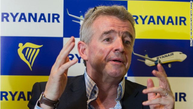 Ryanair CEO Michael O'Leary once flirted with the idea of standing cabins. And charging passengers to use the toilet. The airline hasn't followed through with either idea.
