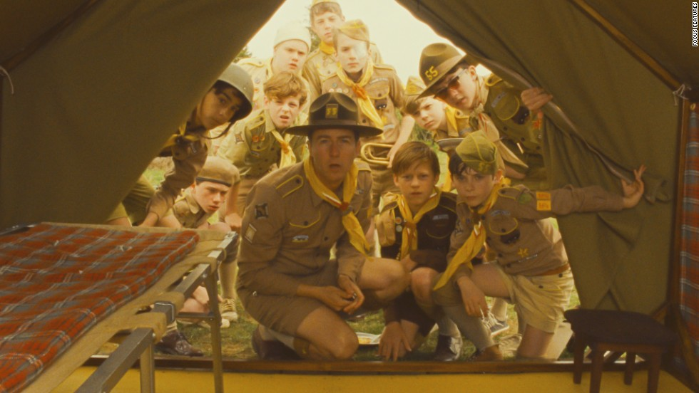 "Scouts from a local camp are enlisted to find two young lovers who have run away in the film ""Moonrise Kingdom,"" starring Edward Norton, center. From scouting camp to arts camp, there are a ton of summer sleepaway options for kids."