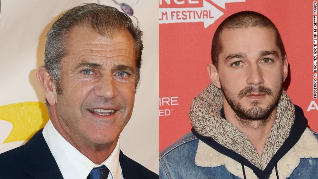Mel Gibson understands some of what Shia LaBeouf is going through.