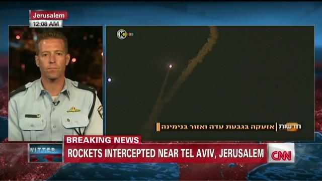 "Israeli Police: ""Iron Dome"" successful"