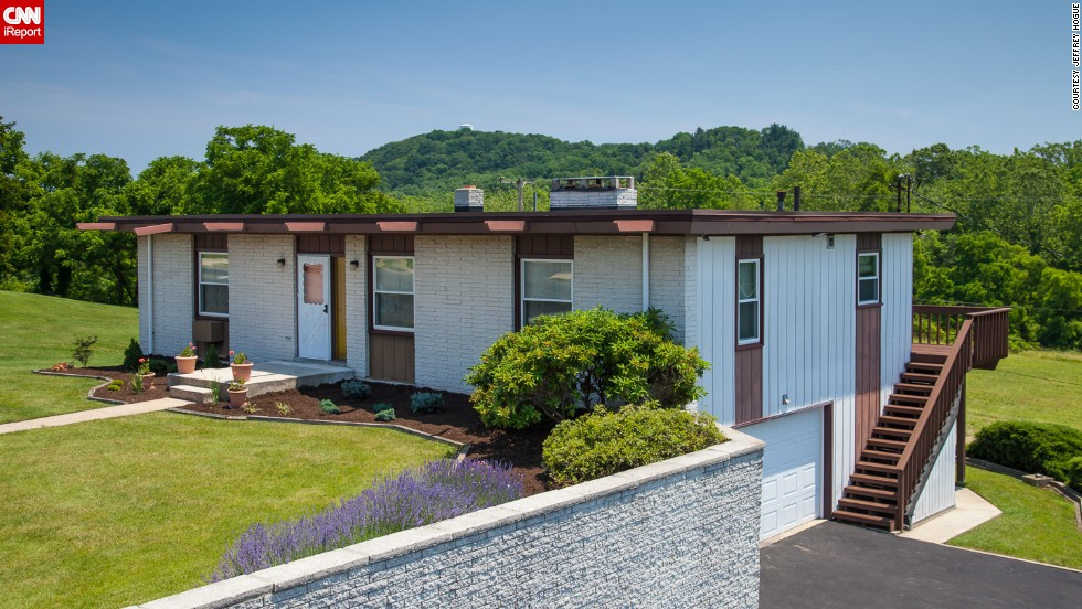 "This 1965 house in Kenthorst, Pennsylvania, is an example of the ""time capsule homes"" sought out by certain buyers. It went on the market in 2012 but took a year to find the right buyer. Realtor Jeffrey Hogue, who has sold 100 mid-century homes, recently shared photos of the house and another just like it with CNN iReport."