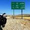 motorcyling iran farsi road sign