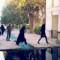 motorcyling iran kashan garden