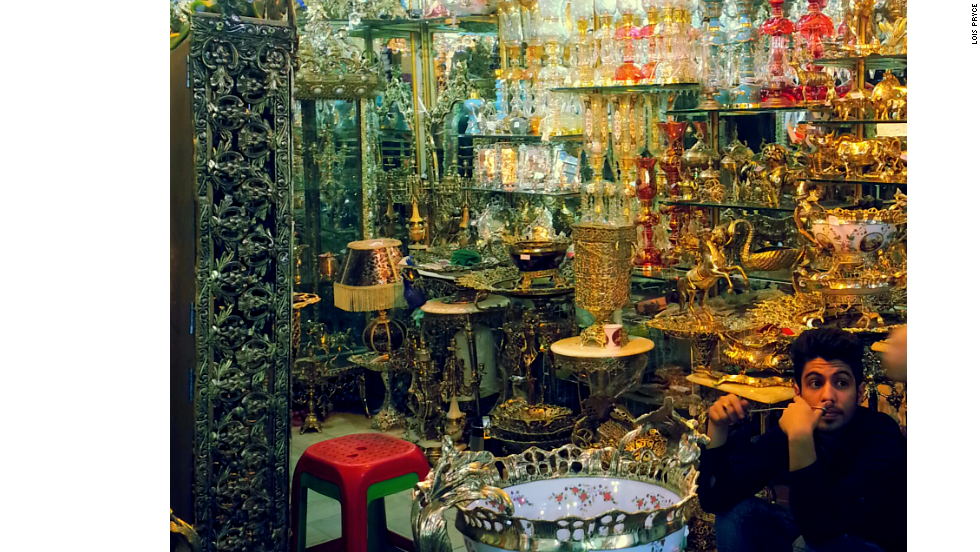 Everything you could ever need is for sale in Tehran's vast, labyrinthine bazaar.