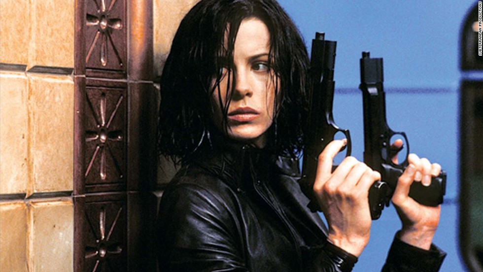 "The battle between the vampires and the werewolves is captured with an action flick spin in the ""Underworld"" series, which stars Kate Beckinsale as the stealth and strong Selene."