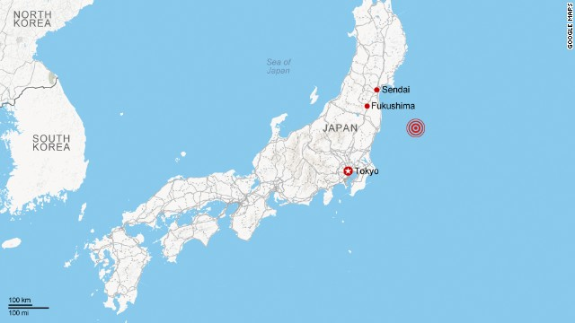 6.8 earthquake hits off coast of Japan