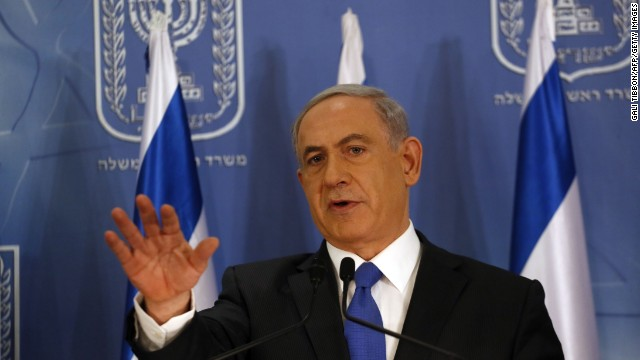 "Israeli Prime Minister Benjamin Netanyahu:  ""I think the United States has been terrific."""