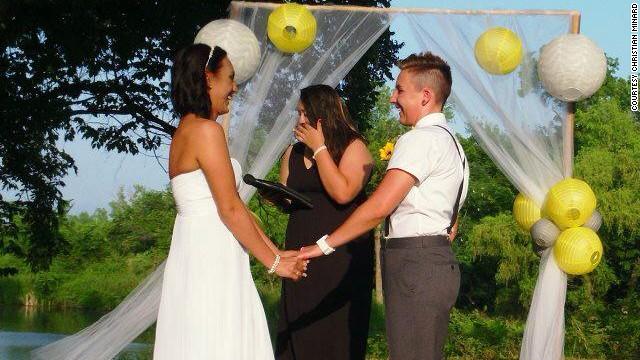 Lesbian: Wedding got me expelled