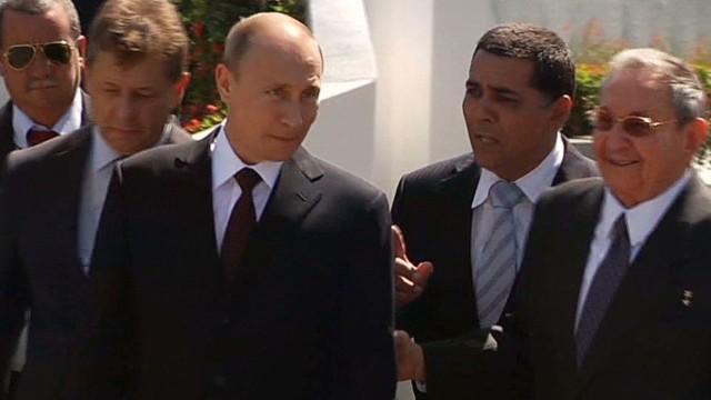 President Vladimir Putin visits Cuba