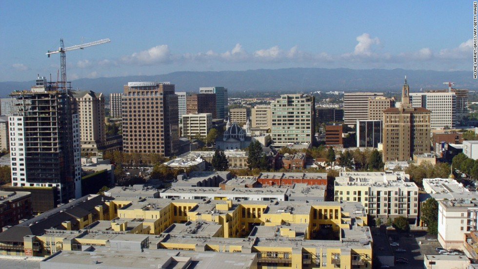 This Silicon Valley capital has seen massive growth over the past decade. The housing market is currently among the most expensive in the US with a median multiple of 9.6.