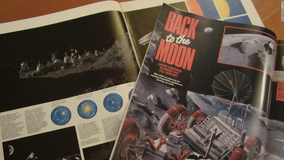 In the 1970s and 80s magazines were showing artists' impressions of moon bases. We still haven't built them.