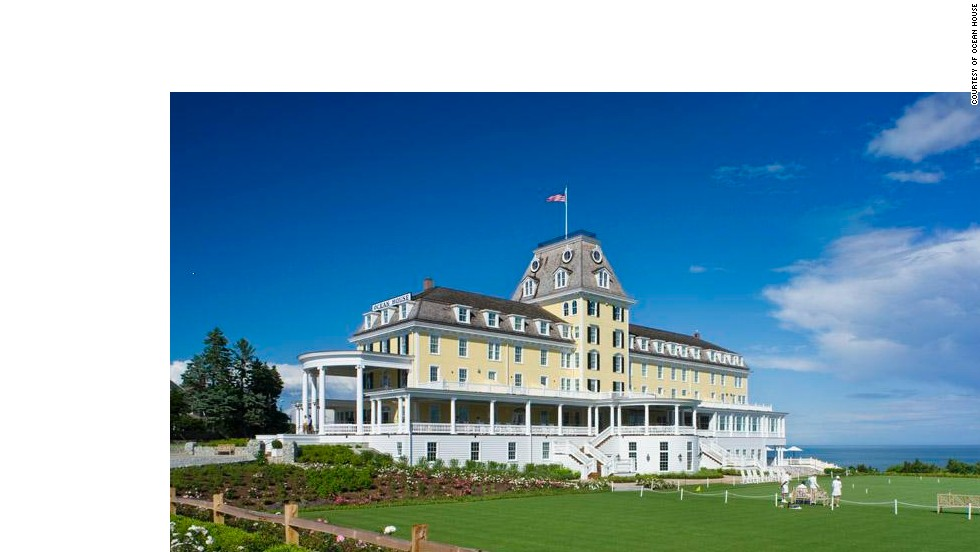 Rhode Island's Ocean House came in fifth place, with a $146 million renovation keeping this 1868 property is as elegant as ever.