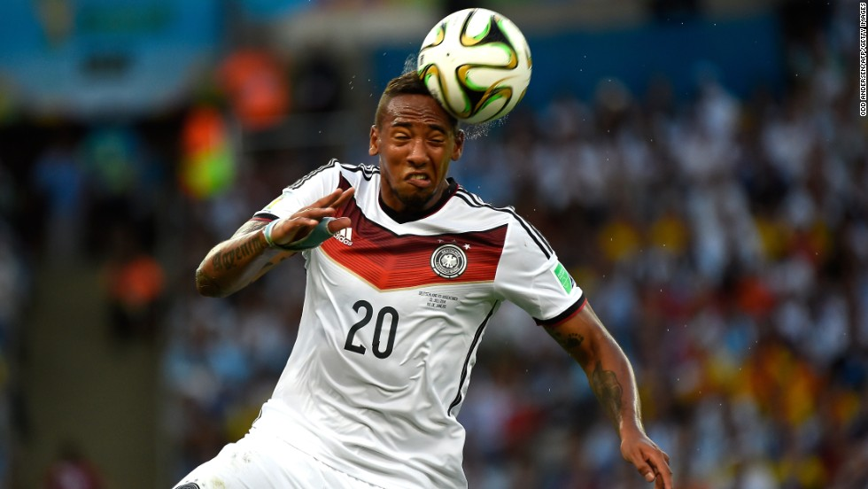 Jerome Boateng whose brother Kevin-Prince was at the World Cup with Ghana, is another player who was part of the German team during its U-21 success and also played all of his country's matches in Brazil.