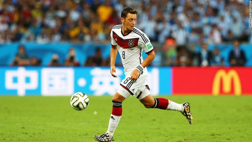 Mesut Ozil was man of the match when Germany crushed England 4-0 in 2009 and he was a fixture of Germany's triumphant team in Brazil.
