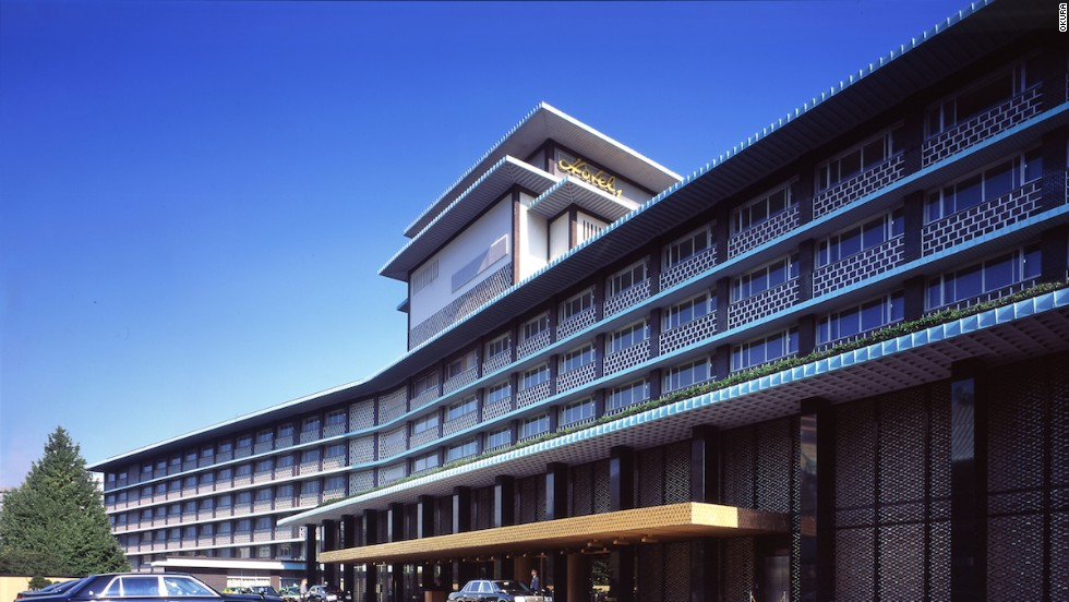 The classic Japanese entry to Tokyo's Hotel Okura has welcomed guests since it was built half a century ago.