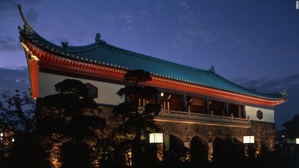 The Okura Shukokan Museum -- currently closed for renovations -- became Japan's first private art museum in 1917 but was destroyed in an earthquake in 1923. Located in front of the hotel's main building, it was restored by architect Chuta Ito and now houses three national treasures and 12 important cultural properties.