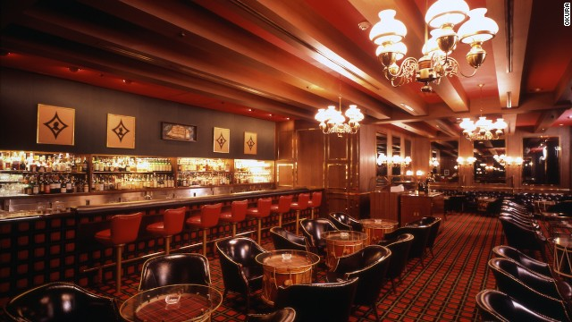 Okura Hotel's Bar Highlander whiskey lounge.