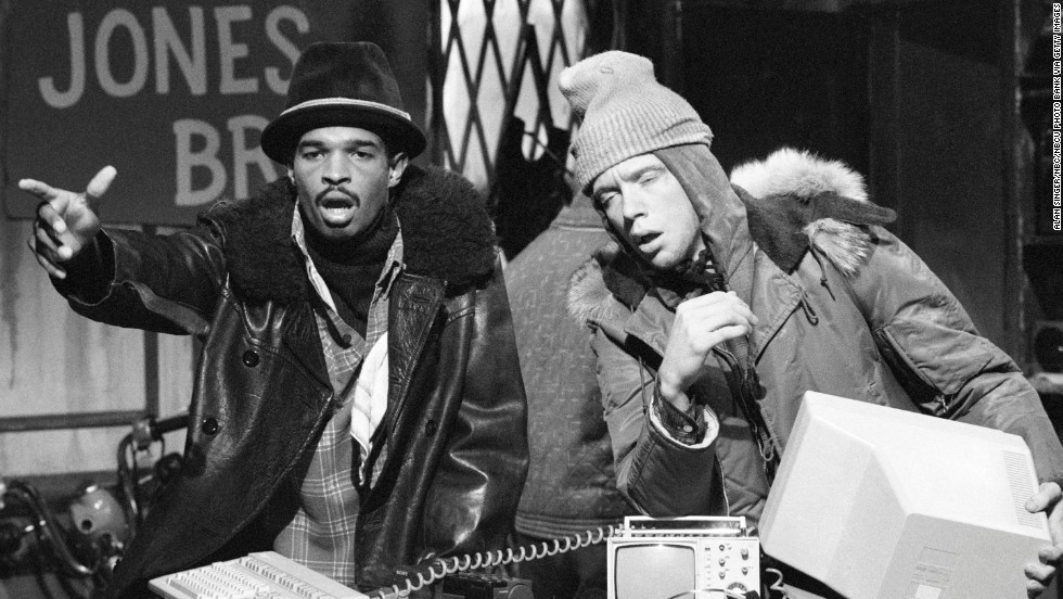 "Damon Wayans, left, and Anthony Michael Hall were players on ""SNL"" from 1985 to 1986 before being let go. They've since found fame in film."