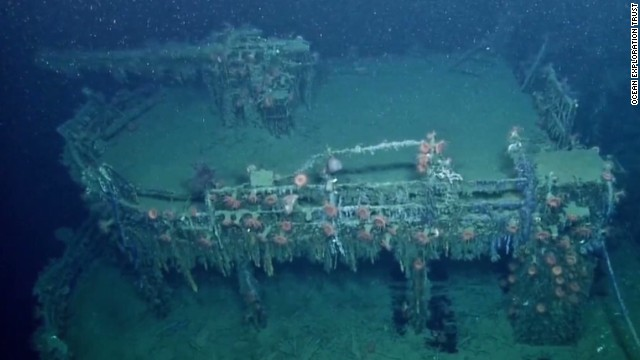 World War II era shipwrecks rest beneath the Gulf of Mexico
