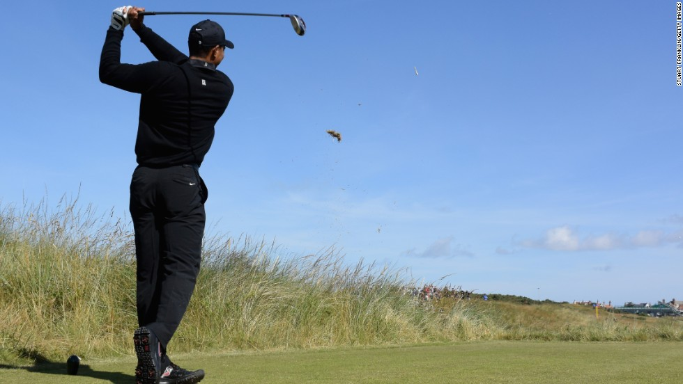 But Woods faces a tough challenge to win at Royal Liverpool given he only returned to the PGA Tour in June after recovering from surgery on a back injury.