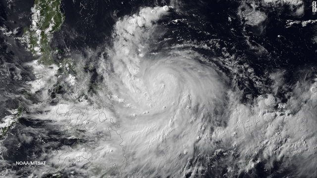 Typhoon Rammasun strikes Philippines