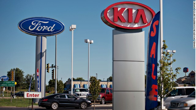 The EPA has challenged the gas mileage claims of some auto makers, including Kia and Ford.